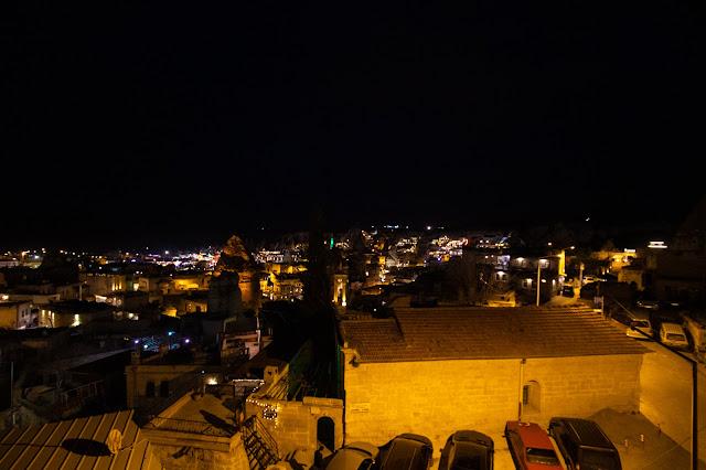 Goreme by night-Cappadocia