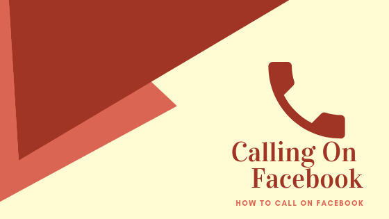 How To Voice Call On Facebook<br/>