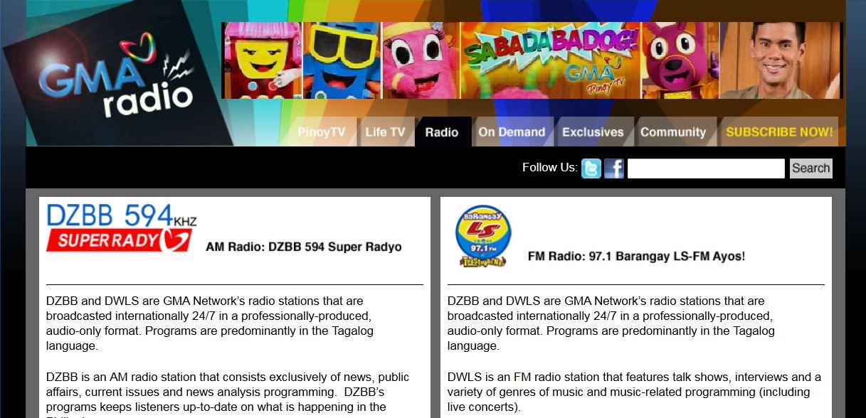 GMA TV RADIO Live Free Broadcast to Enjoy Online