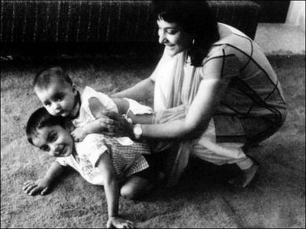 Sanjay Dutt rare unseen childhood, young age and family ...