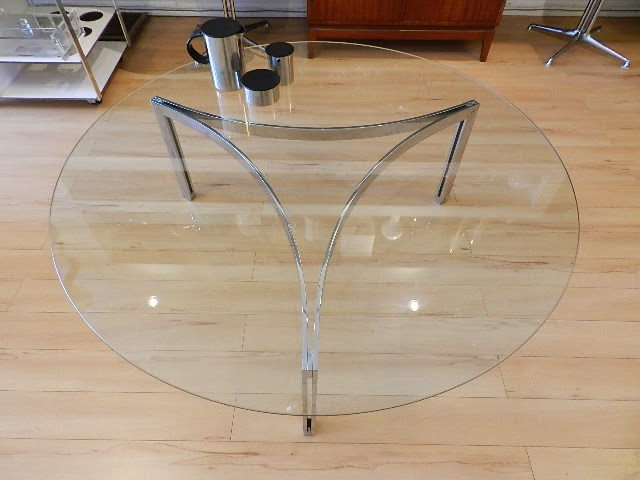 Super Zig Zag Chromed Steel Coffee Table Sold Machost Co Dining Chair Design Ideas Machostcouk