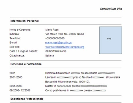 Cv writing services europe