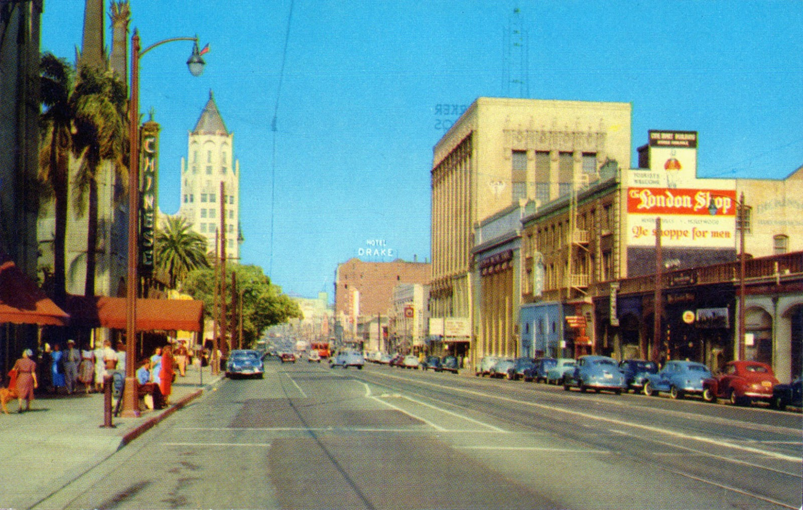 Earth In The Past: Color Photos of Hollywood in the 1950s ...