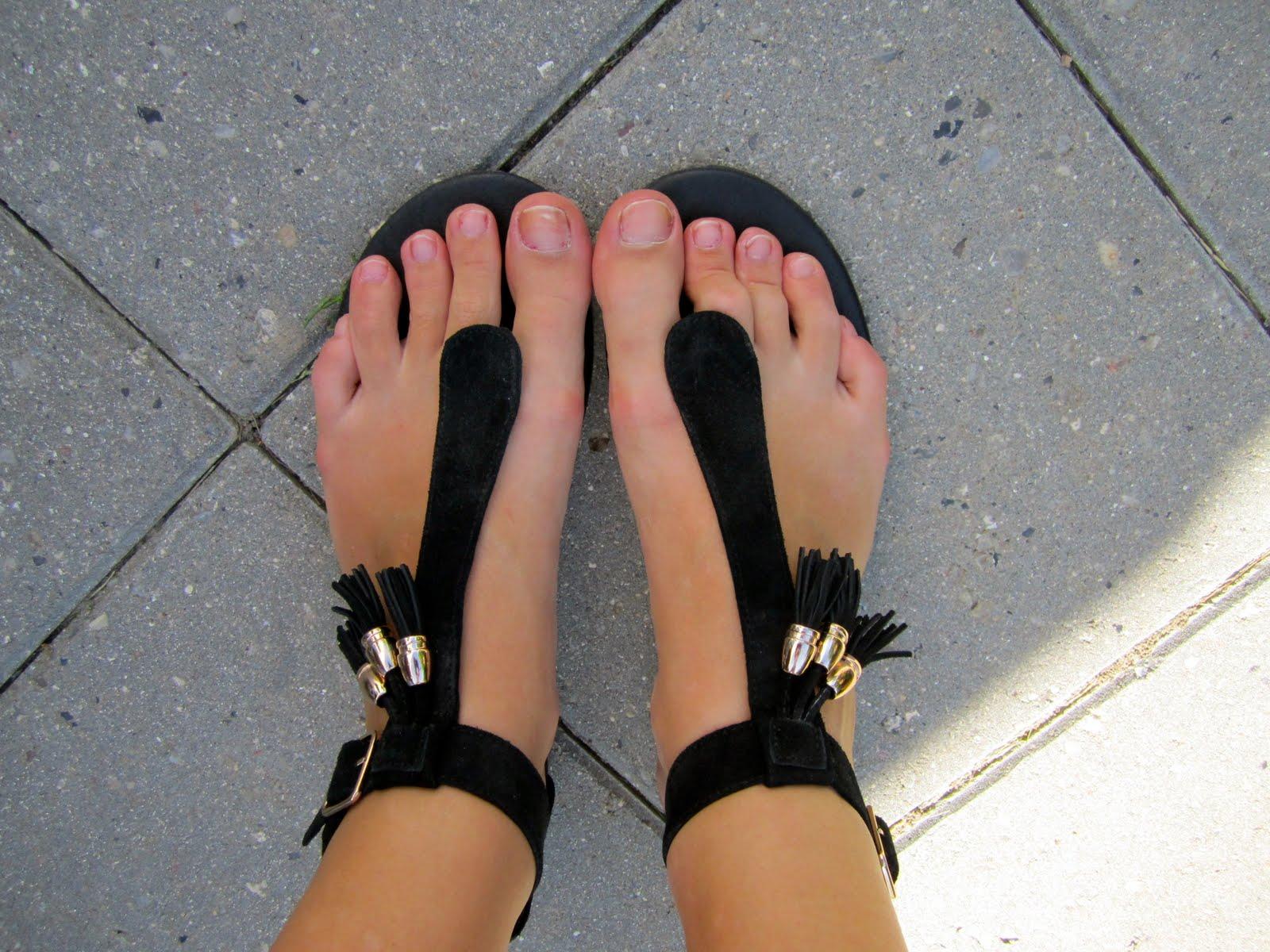 Skoven for bare tæer: Sandalos