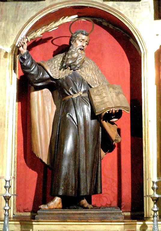 Santo Elias, século XVIII. igreja do Santo Anjo, Sevilha, Espanha.