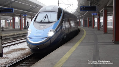 Pendolino, PKP Intercity, ED250-007, Kraków Główny