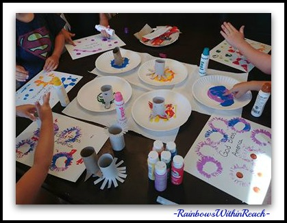 Painting with Young Children in Process, Open-Ended Style