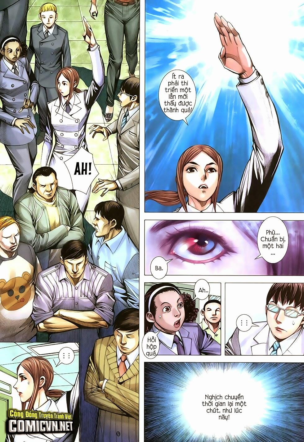 Đại Quân Phiệt chap 34: bình an là người cứu thế trang 4