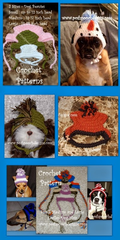 Posh Pooch Designs Dog Clothes  Crochet Patterns For Medium and ... 134138ba481