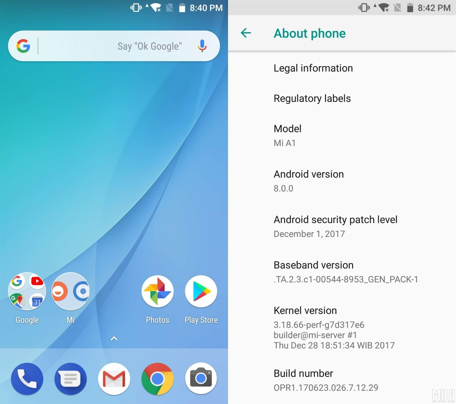 Cara update android oreo