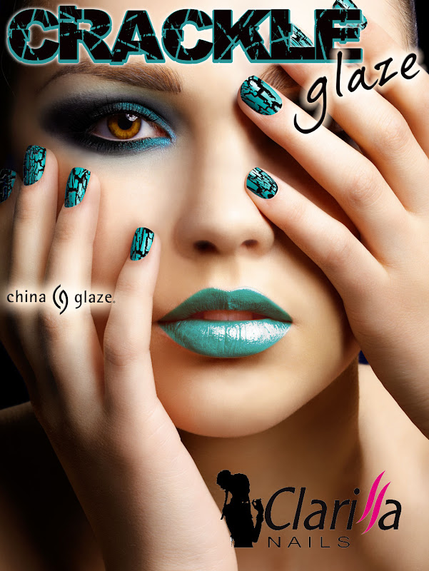 China Glaze: Presenta Crakle Glaze!