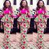 Creative Aso Ebi Skirt and Blouse Style