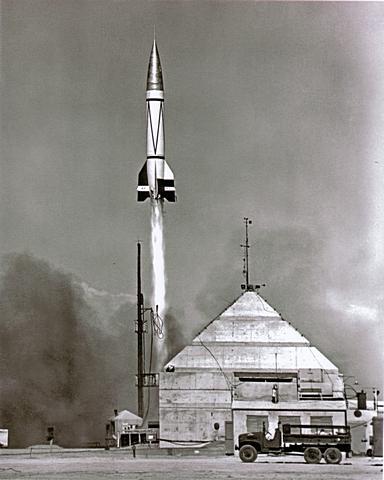 Lanzamiento de un cohete V2