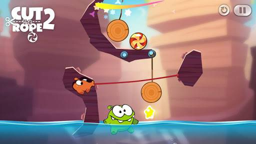 Download Cut the Rope 2 Mod Apk Unlimited Money