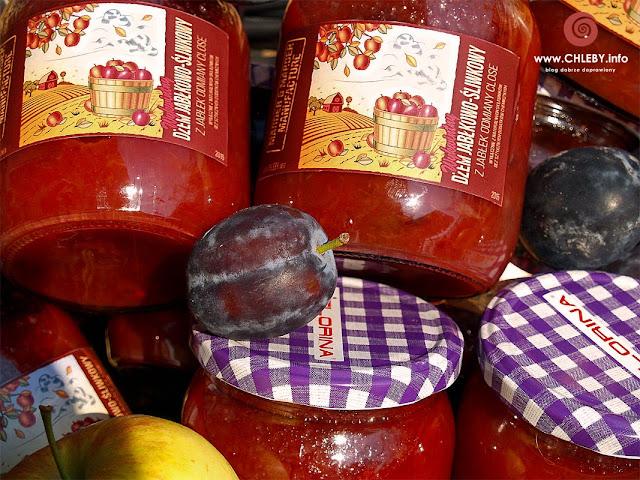 Wykwintny dżem jabłkowo-śliwkowy