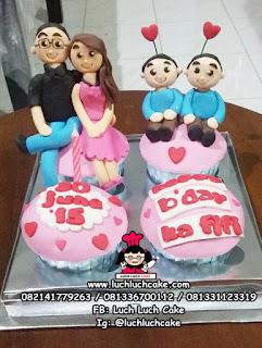 Cupcake Tema Keluarga Khusus SURABAYA - SIDOARJO - GRESIK - BANGIL KOTA