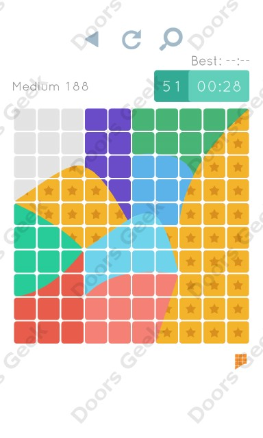 Cheats, Walkthrough for Blocks and Shapes Medium Level 188