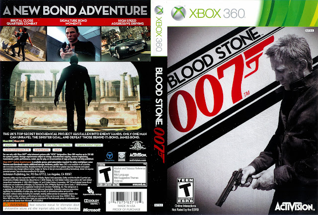 Capa xBox360 Blood Stone 007