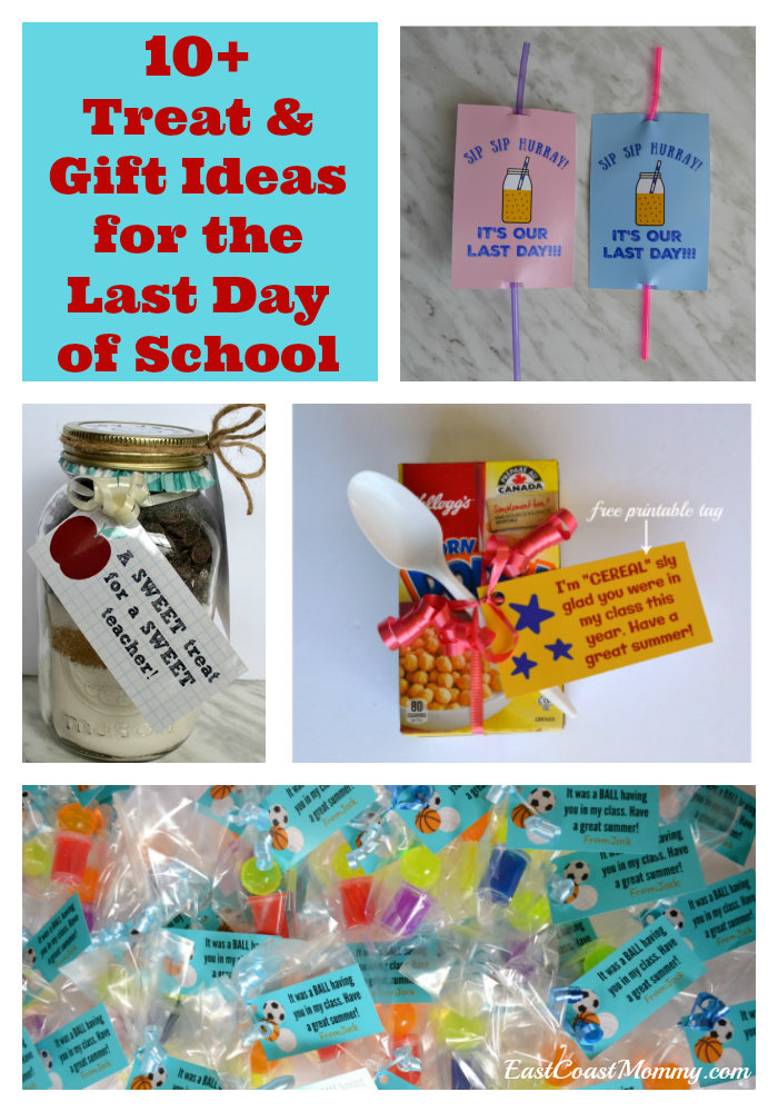 picture regarding Have a Ball This Summer Free Printable named East Coastline Mommy: 10+ Final Working day OF University snacks and items