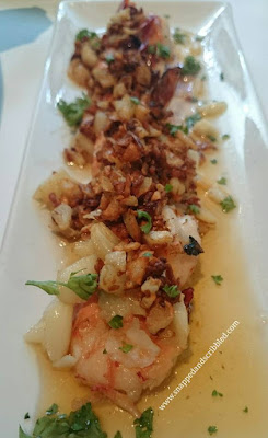 Garlic Sauteed Shrimps at Tapella by Robert Spakowski