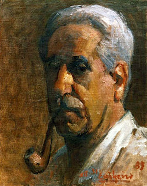 Edgardo Ribeiro Nario, Portraits of Painters, Self Portraits