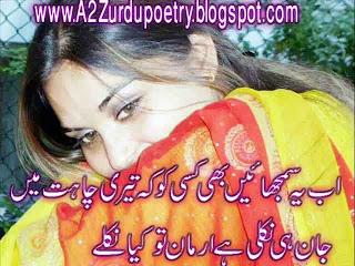 2 Line Urdu Design Sad Shayari on Chahat, teri chahat mian jaan shayari chahat shayari 2 line design poetry , poetry, sms