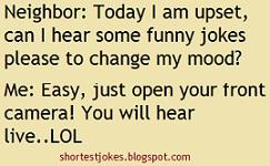 funny joke when neighbor feels upset