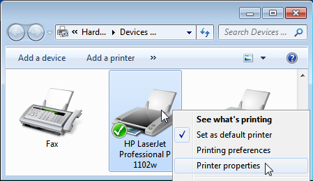 Karyaku: Menginstal Printer Wireless HP LaserJet