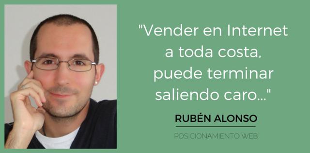 Errores que se comenten en la venta online por Ruben Alonso