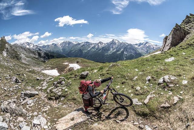 Mountainbike Tour Flatschspitze Südtirol