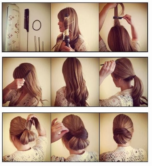 coiffure pour mariage invit facile ivory hairstyle. Black Bedroom Furniture Sets. Home Design Ideas