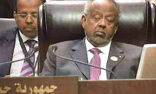 President Ismail Omar of Djibouti in the summit