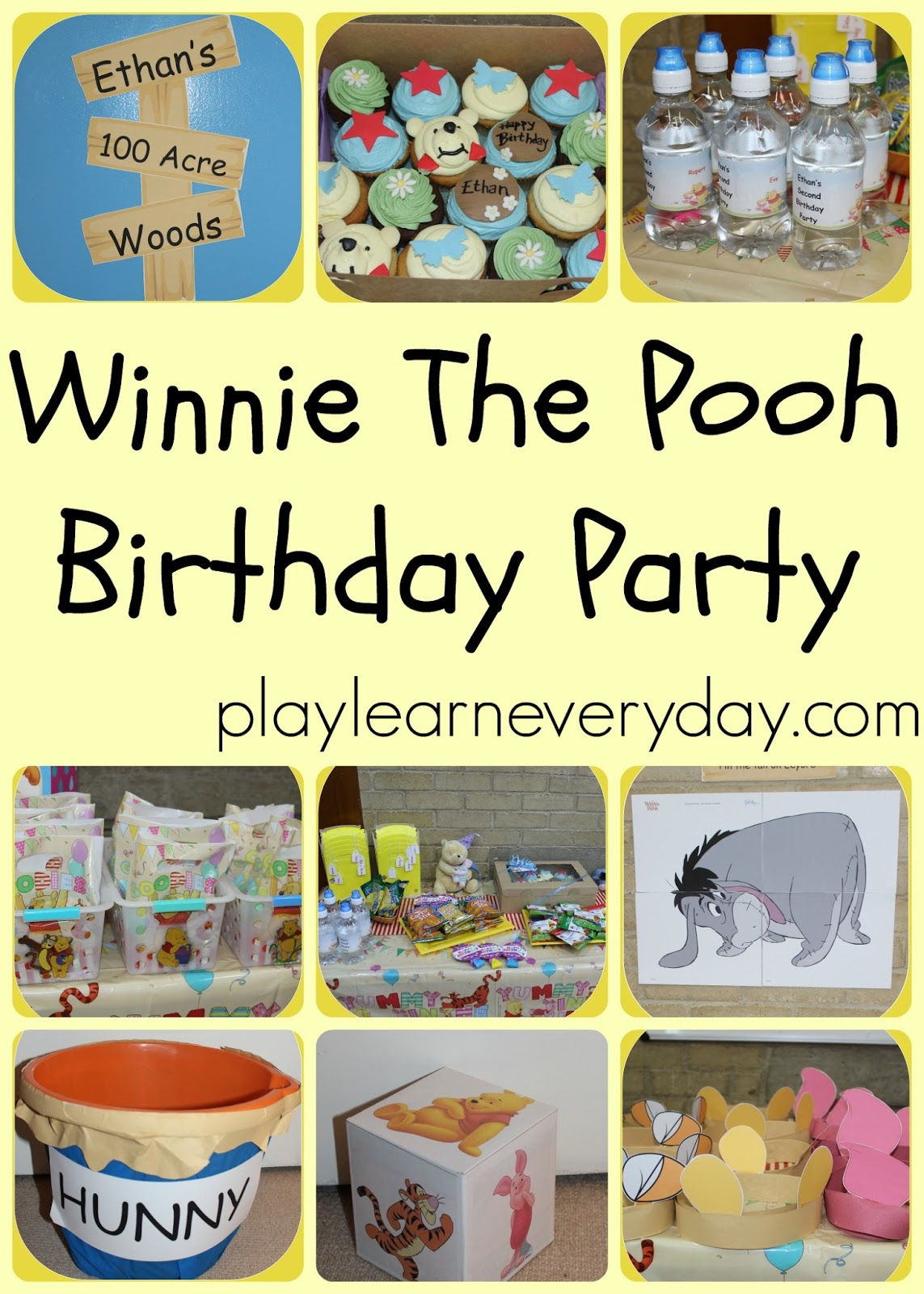 Ethans Winnie The Pooh Second Birthday Party