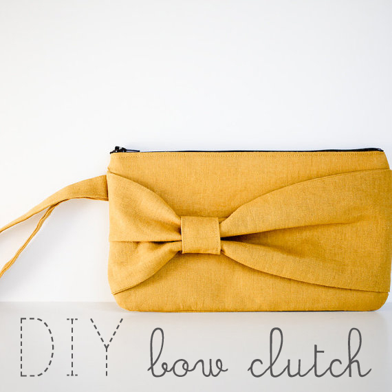 How to Make a Bow Clutch Purse