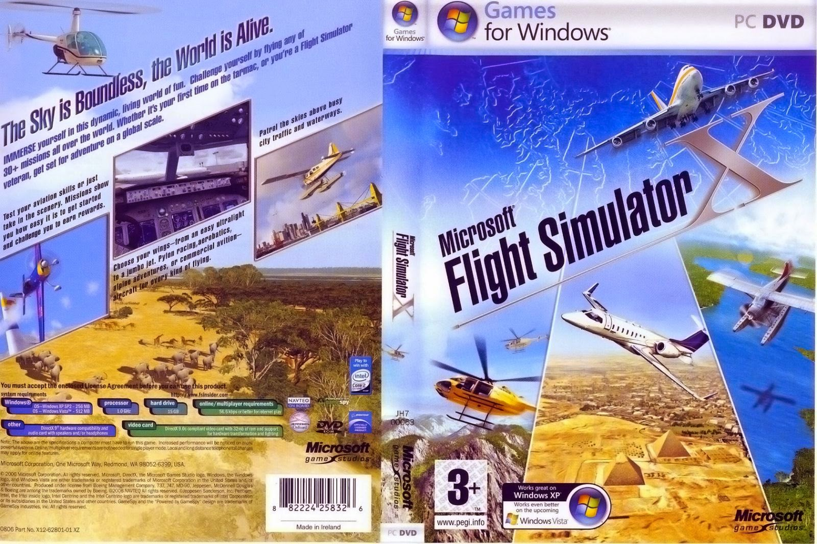 Microsoft Flight Simulator X Deluxe Edition-3DMGAME Torrent Free Download