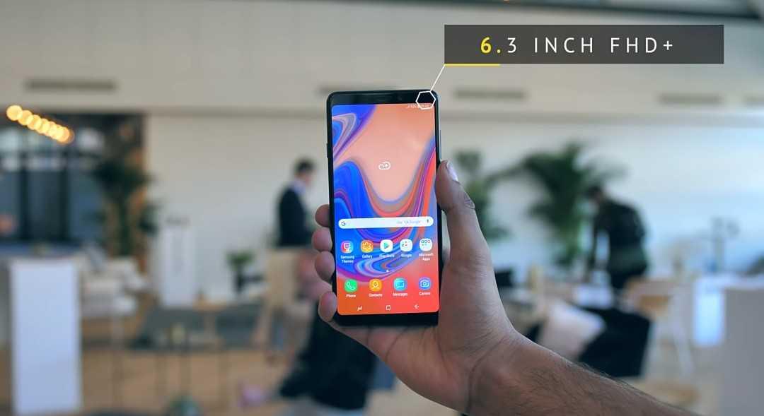 Samsung Galaxy A9.