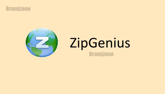 برنامج زيب جينيس لفك ضغط الملفات