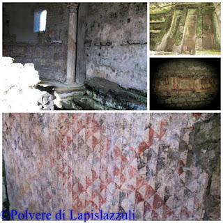 Affreschi conservati di santo Stefano a Cimitile