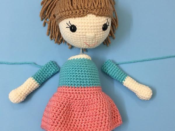 Amy the Amigurumi Doll - CAL Part 3
