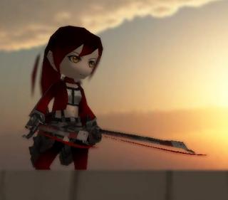 Crimson Rose Skin Attack On Titan Tribute Game