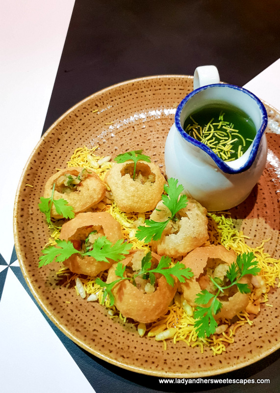 Pani Puri in 24th St Dusit Thani Dubai
