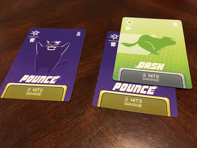 PopCats Fighter by Ninjabot Attack Cards Pounce