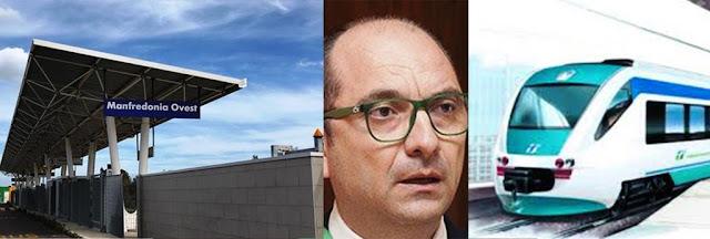 """De-finanziamento progetto """"Treno-Tram"""" Manfredonia-Foggia: Giandiego Gatta interroga la Giunta Regionale"""