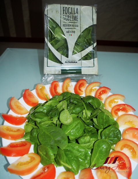 foglia sublime baby spinach salad recipe