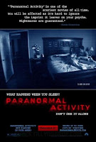 pelicula, Paranormal activity