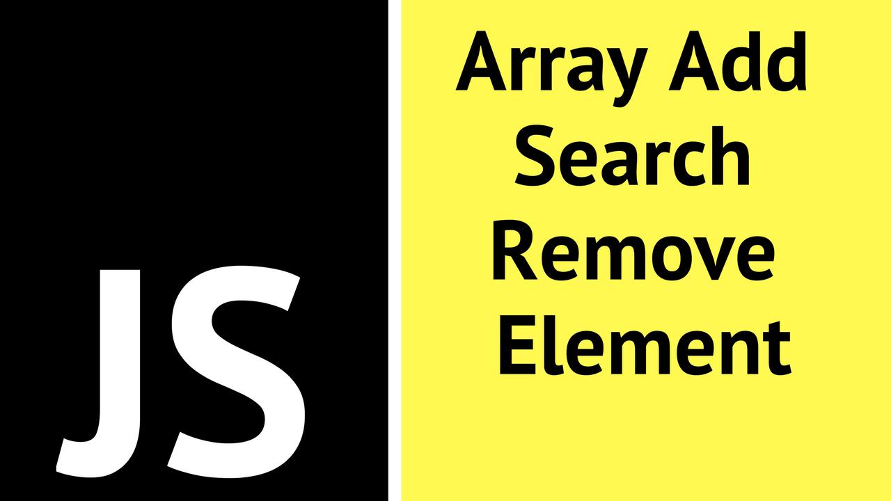 JavaScript Arrays - YouTube