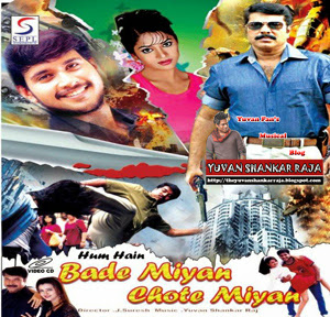 Poster Of Hum Hain Bade Miyan Chote Miyan (2002) In hindi dubbed Dual Audio 300MB Compressed Small Size Pc Movie Free Download Only At worldfree4u.com