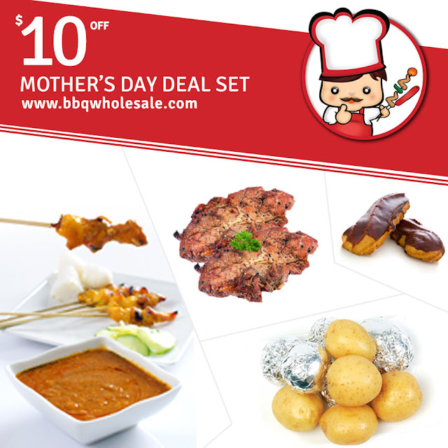 BBQ Wholesale Promotion Mother's Day Special