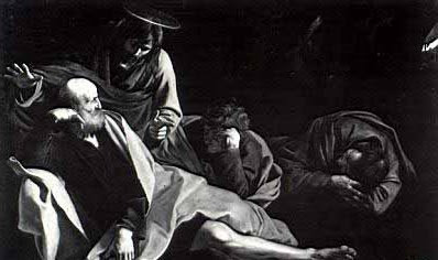 """""""Cristo en el huerto de los olivos"""""""