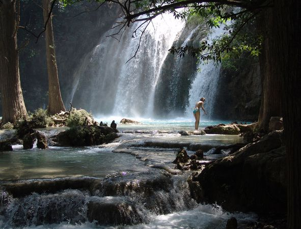 Insitute Fun: Mexico Chiapas Waterfall Travel And Tourism
